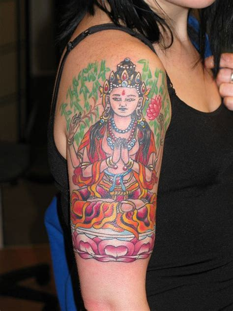 mercy tattoo kuan yin goddess of mercy and compassion and