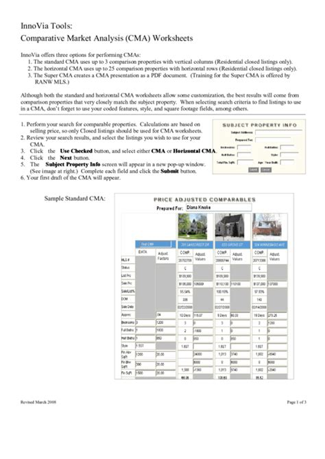 Top 6 Market Analysis Templates Free To Download In Pdf Format Comparative Market Analysis Template 2