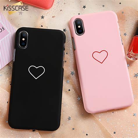 kisscase luxury case  iphone  xr   cute love heart couple cover case  iphone    se