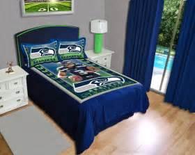 seattle seahawks russell wilson gameday comforter set