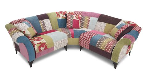 patchwork sofa shout 3 piece corner shout patchwork dfs