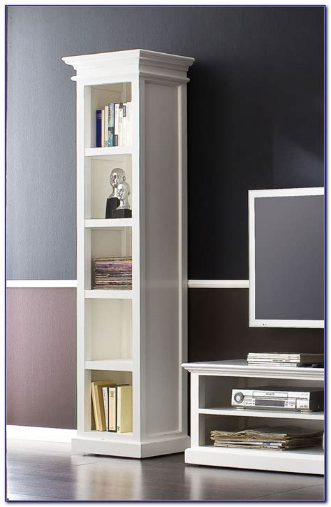 tall narrow bookcase white bookcase home design ideas