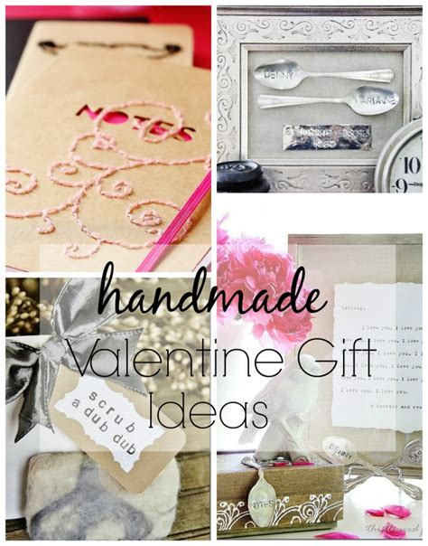 Handmade Valentines Gift Ideas - four simple handmade gift ideas for s day