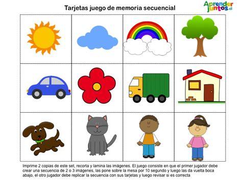 imagenes en secuencia html juegos para la memoria presencial aprender juntos