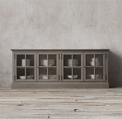 Buffet Table With Glass Doors 1000 Ideas About Glass Sideboard On Interiors Industrial Interior Design And Grey