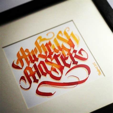 calligraphy tattoo instagram theosone airbrush master theosone calligraphy