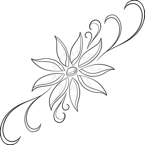 imagenes de flores grandes para dibujar dibujos de flores para imprimir y pintar flores para