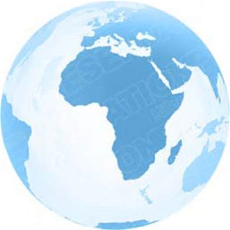 globe and maps ppt high quality royalty free 3d globe africa light