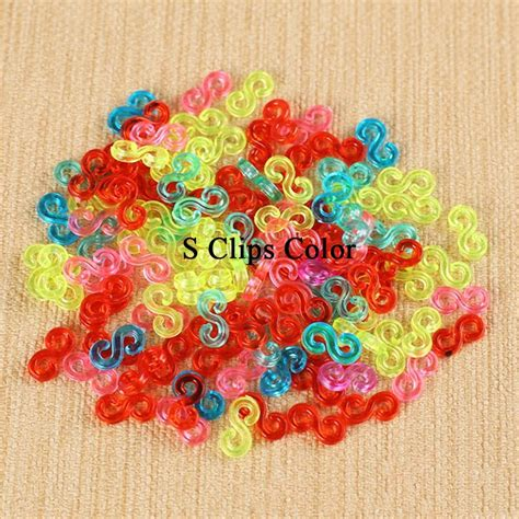 hair accessories to make with loom bands 1000pcs s clips c lips for loom rubber bands diy bracelet