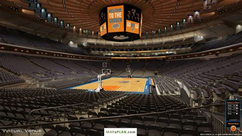 section 103 msg madison square garden seating chart detailed seat