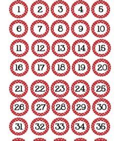 printable numbers 1 40 1000 images about polka dots theme on pinterest polka