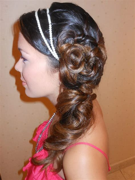 Wedding Hair Pinned To Side by Wedding Hair Pinned To Side Hairstyles