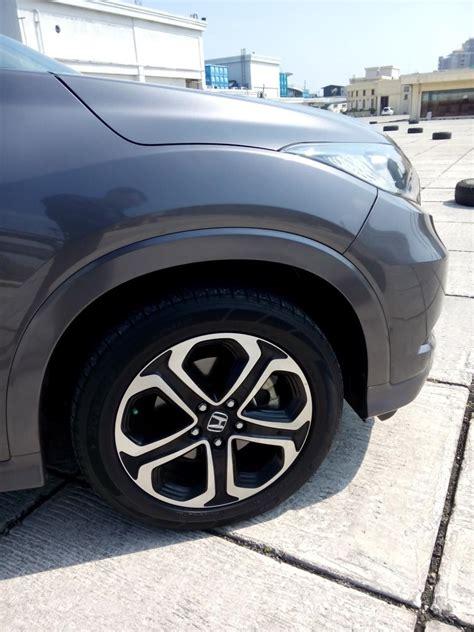 Honda Hrv 1 8 Prestige Cvt hr v honda hrv 1 8 prestige 2015 matic grey mobilbekas