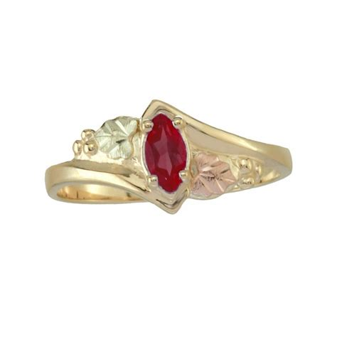 ruby black hills gold ring boomer style magazineboomer