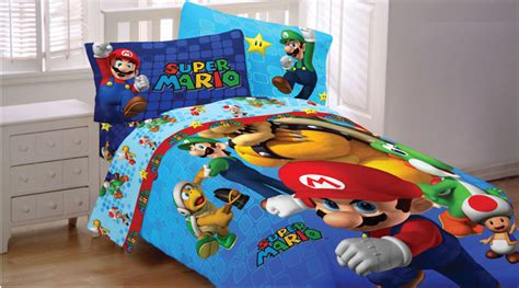 Mario Brothers Bedroom mario bedding and room decorations modern bedroom
