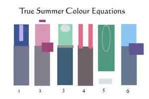 true summer color palette true cool summer on cool summer palette