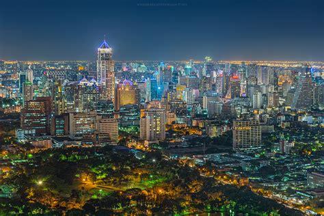 Bangkok Skyline   Beautiful view from Vertigo and Moon Bar ...
