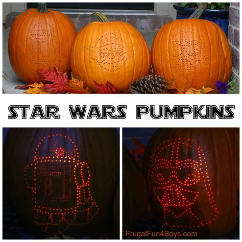 how to create awesome wars pumpkins frugal for - Wars Pumpkins