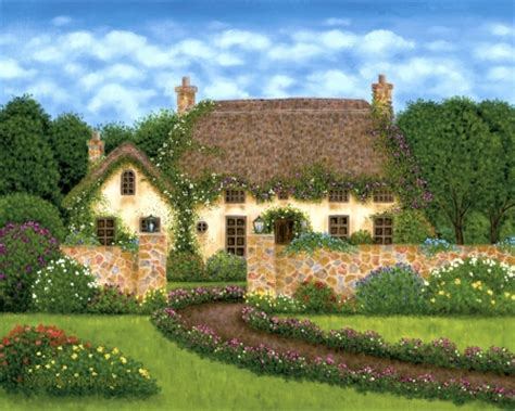 Country Cottage Wallpaper by Country Cottage Other Abstract Background Wallpapers