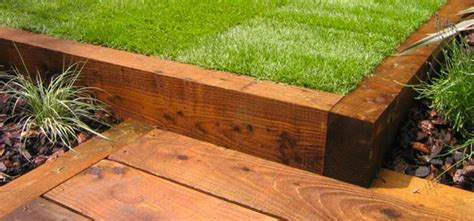 Railway Sleepers Essex by Railway Sleepers Gt Fhives Timber Merchants Essex Decking