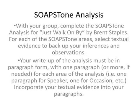 Soapstone Analysis - ppt soapstone analysis powerpoint presentation id 4521572