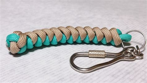 keychain design maker 20 diy paracord keychains with instructions guide patterns