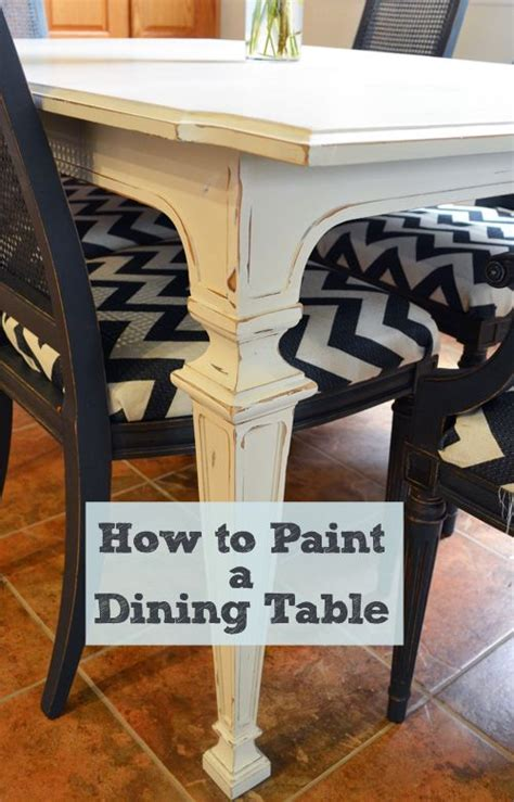 how to paint a dining table dining tables dining room