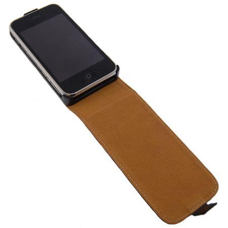 Flipcover Iphone 3g Or Iphone 3gs slimline premium leather flip iphone 3gs 3g mobilezap australia