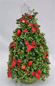 christmas tree premium boxwood table top by