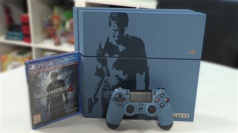 Ps4 Uncharted 4 Limited Tanpa unboxing the uncharted 4 limited edition playstation 4 bundle ign