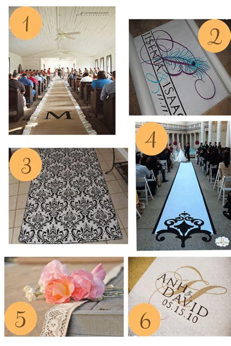 Wedding Aisle Runner Etsy by Etsy Roundup Ceremony Aisle Runners Polka Dot