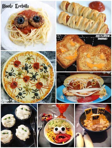 monster sandwiches and fun halloween dinner ideas