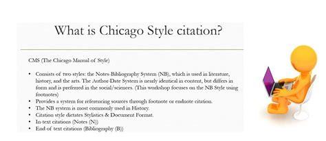 chicago style citation styles libguides  cossatot