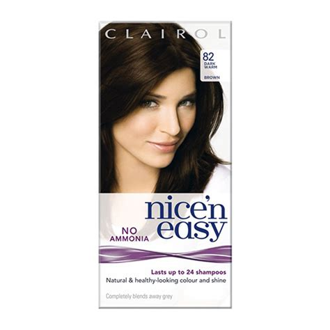 buy clairol nice n easy non permanent hair colour 8 buy clairol nice n easy non permanent hair color 82 dark