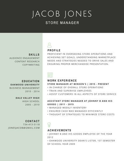 R 233 Sum 233 Templates Canva Professional Resume Template