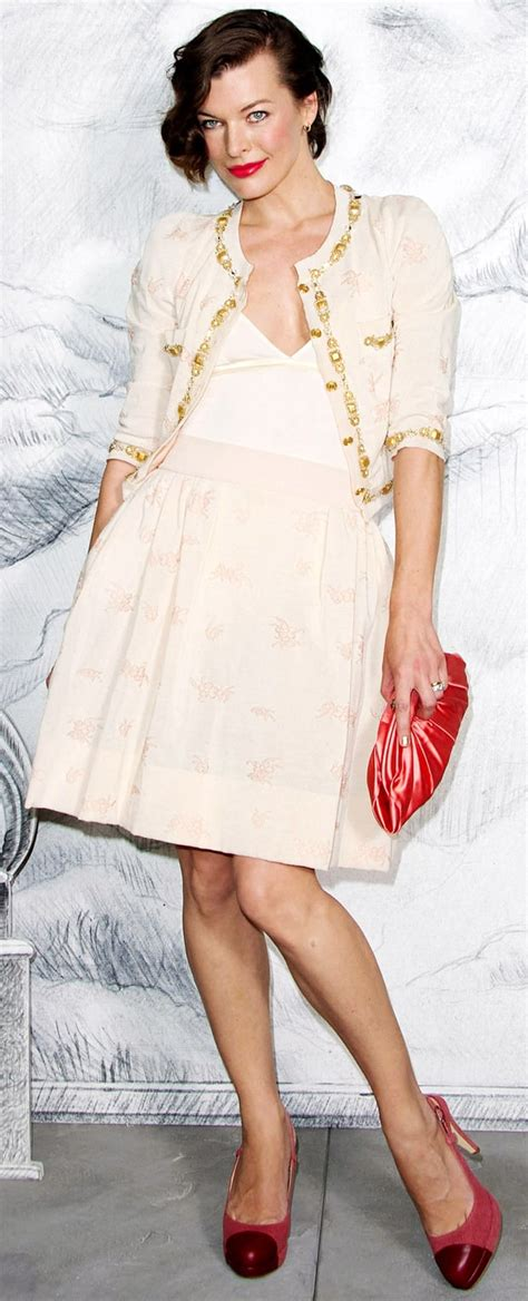 Catwalk To Carpet Kate Bosworth In Chanel Couture by Milla Jovovich Chanel Haute Couture Runway Show