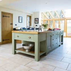 Painted Kitchen Islands Island Take A Tour Around A Painted Country Style Kitchen Housetohome Co Uk