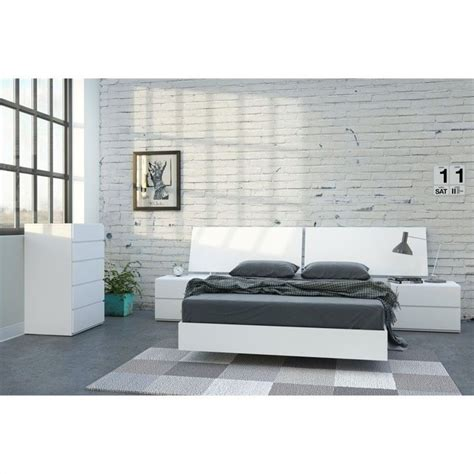 white lacquer bedroom set 5 piece full bedroom set in white lacquer and melamine