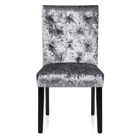 Grey Velvet Dining Chairs Barrington Dining Chair Grey Velvet Atlantic Shopping