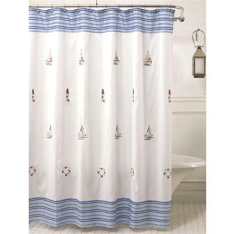sailboat shower curtain hooks nautical themed shower curtain hooks curtain menzilperde net