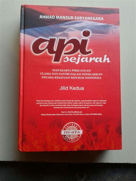 Api Sejarah Satu Set Jilid 1 Dan 2 buku api sejarah mahakarya perjuangan ulama dan santri set 2 jilid toko muslim title