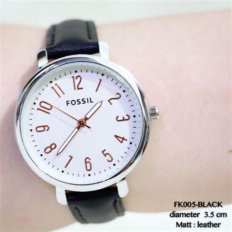 Jam Tangan Wanita Fm List jam tangan fossil wanita tali kulit new model terbaru