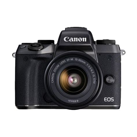 Kamera Canon Mirrorless M5 jual canon eos m5 kit 15 45mm kamera mirrorless