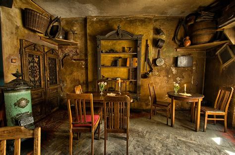 Unique Dining Room Set by Once Upon A Time In Krakow At The Old Jewish Quarter Caf 233