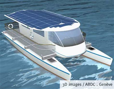 cargo catamaran design swiss solar powered catamaran ferry boat design net