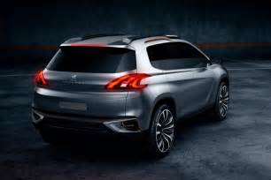 Peugeot 308 Crossover Peugeot 2008 Previewed As Crossover Concept