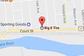 locations big  tire  auto service vestal front street court street binghamton  york
