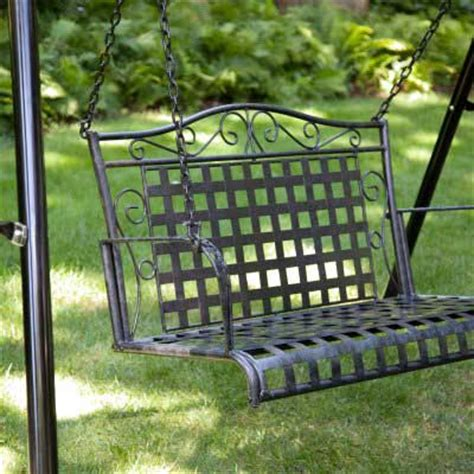metal patio swing metal porch swing plans free plans diy free download miter