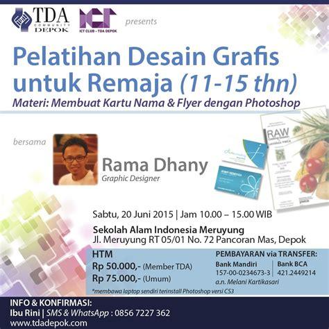 desain grafis indonesia forum 20 juni 2015 workshop pelatihan desain grafis untuk remaja