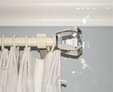 crystal curtain pole ends pacific coast drapery information on the world of custom